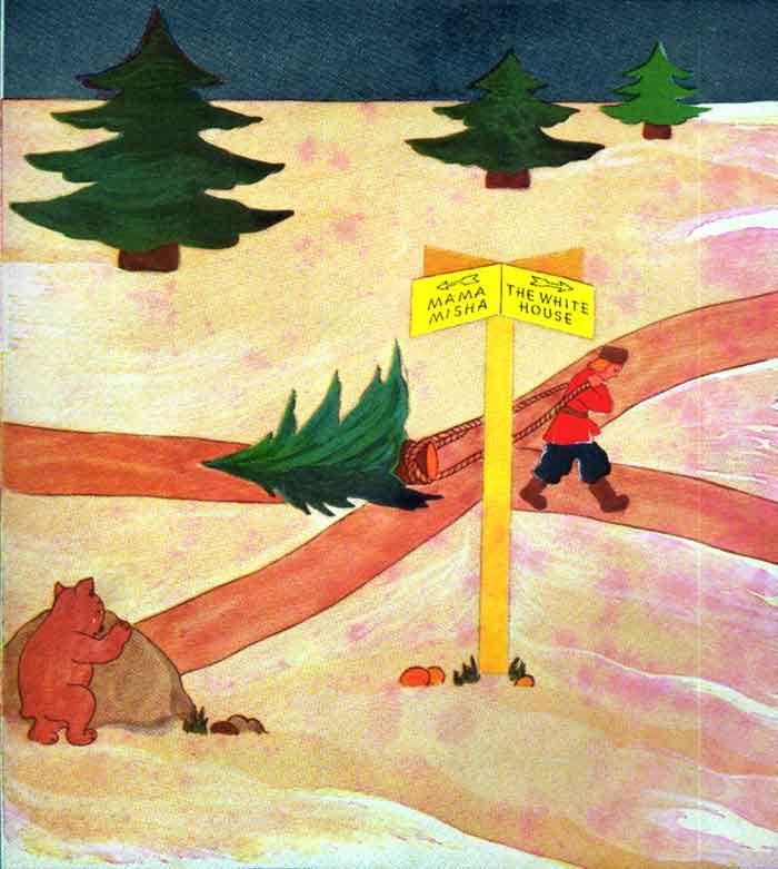 Misha the Little Brown Bear by Adrienne Segur
