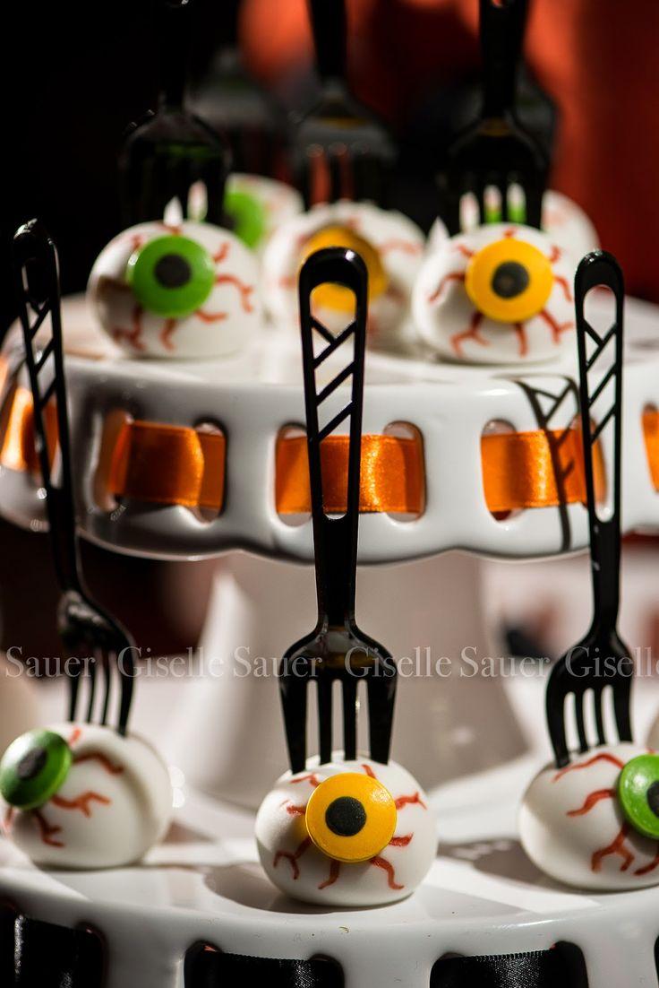 Festa com Gosto: Decoração de Halloween Festa com Gosto Style!