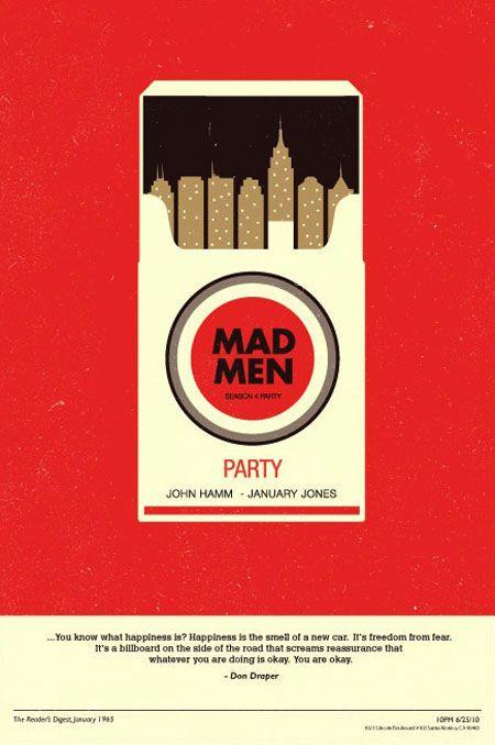 Mag die Idee sehr. Zigaretten sind eine Sucht und Serien können es eben so werden....wenn auch mit nem gesünderen Ausgang ^^ Außerdem passt der Stil des Posters perfekt zur Serie.