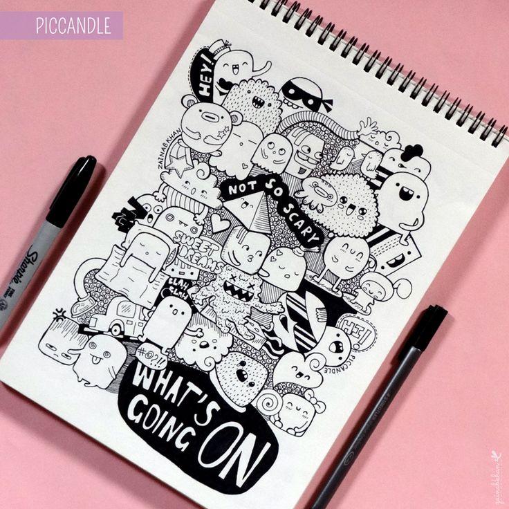Doodle - What's Going On by PicCandle.deviantart.com on @deviantART