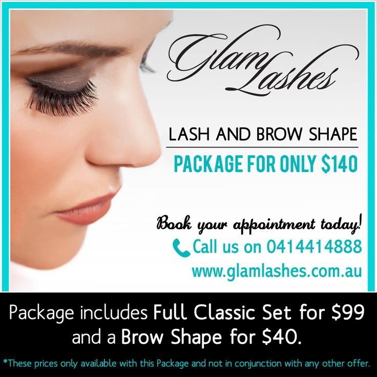Get lashed up and bring your beauty out! CURRENT SPECIAL $140 for a Classic Full Set and a Brow Shape.  Book your appointment today, call us on 0414 414 888 or email us at info@glamlashes.com.au. Visit our website at http://www.glamlashes.com.au for more information about our services.  #BestEyelashes #lashes #eyelashextenstions #toplashesbrisbane #beauty #Brisbane #eyelashes #Valentines #Promo #BrowDesign #bulimbabrows #brisbanebrows #brisbanebestbrows #eyebrowdesign #ValentinesDay
