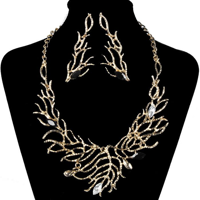 S0122 shipping free 2014 new 18k gold plated African jewelry sets for women personalized necklaces & pendants good gift