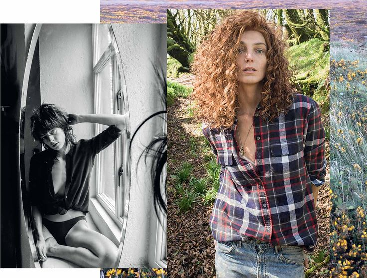 Daria Werbowy Fall 2014 for Winter 2016 by Equipment