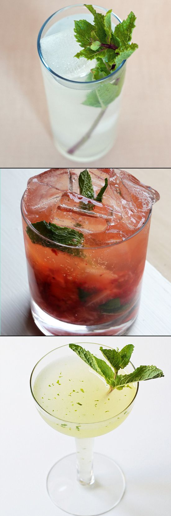 When thinking of the Kentucky Derby, mint juleps are probably on your radar. But if bourbon isn't your thing or you're just looking for something different, boy have we got the liquor list for you. From a kiwi-tequila cobbler to twists on classic cocktails, here are 10 refreshing drinks with mint to get you in the racing (and sipping) spirit.