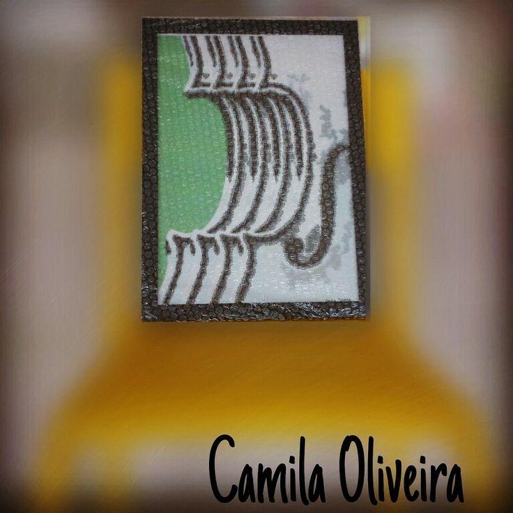Arte digital sob encomenda para uma violinista por Camila Oliveira