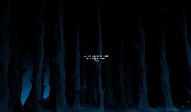 Then, at the end, you get to click and drag the mouse to reveal your Patronus, like you're doing REAL MAGIC. | The Pottermore Patronus Quiz Is Finally Here And It's Utterly Magical