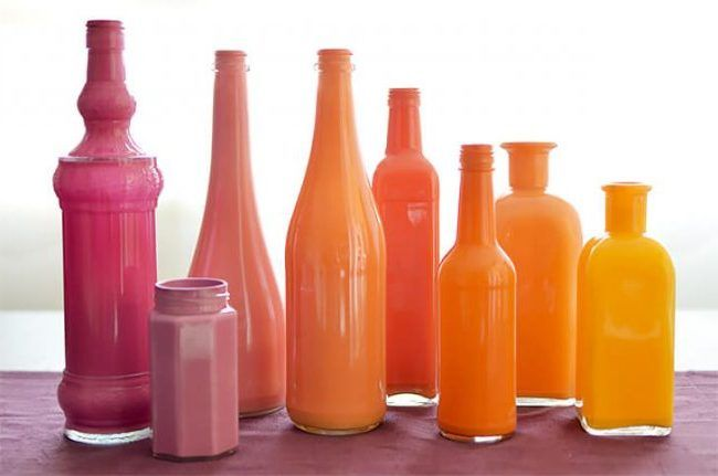 M s de 25 ideas incre bles sobre pintar botellas de vidrio - Pintar botellas de plastico ...