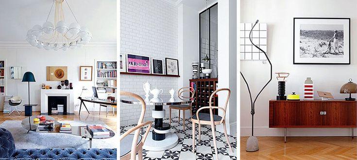 Apartamento femenino en París