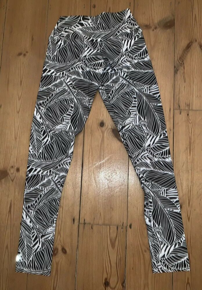 cb74d2cf7bde94 Tikiboo Black And White Squat Proof Leggings Size Small #fashion #clothing # shoes #accessories #womensclothing #leggings (ebay link)