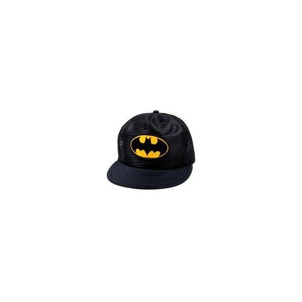 Batman Mesh Black Trucker Hat in Gifts For Him Hats ($17) ❤ liked on Polyvore featuring accessories, hats, batman, cap, trucker mesh cap, cap hats, mesh trucker hats, mesh cap and mesh hats