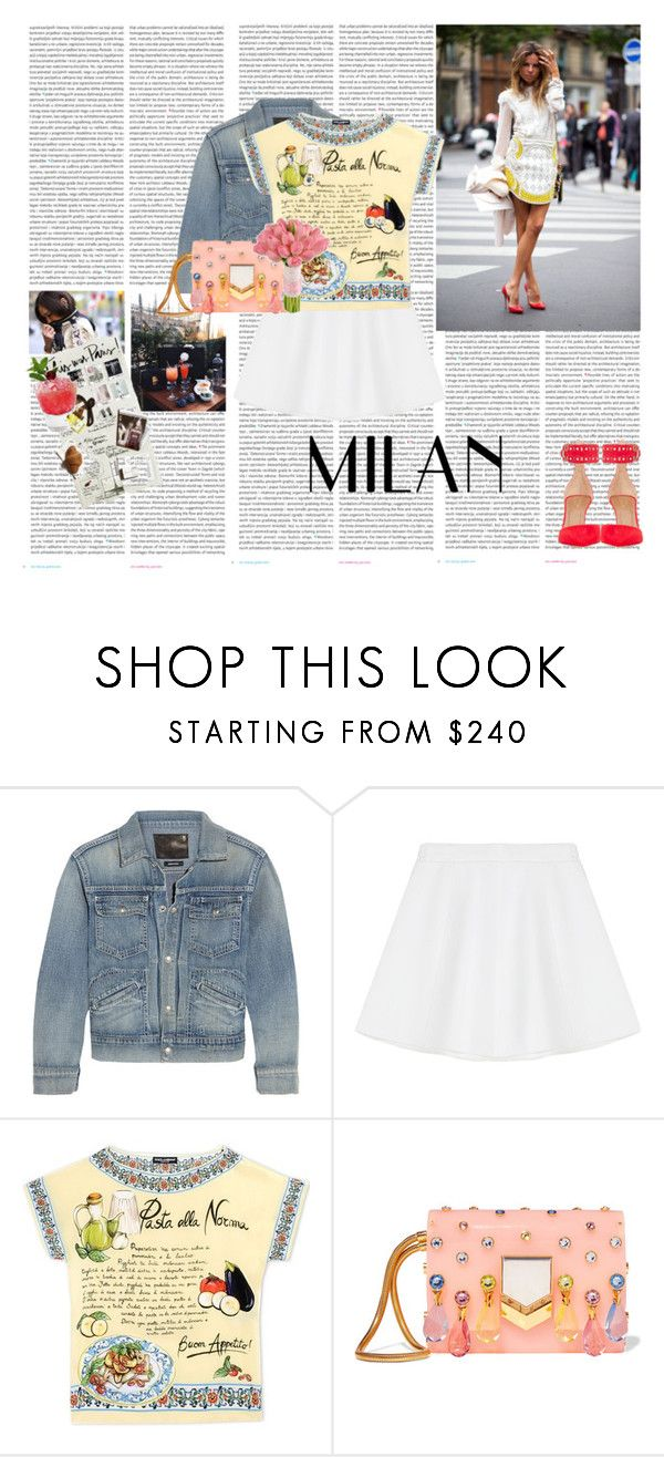 """Milano"" by rikka-alicia ❤ liked on Polyvore featuring Oris, R13, RED Valentino, Dolce&Gabbana, Jimmy Choo and Aquazzura"
