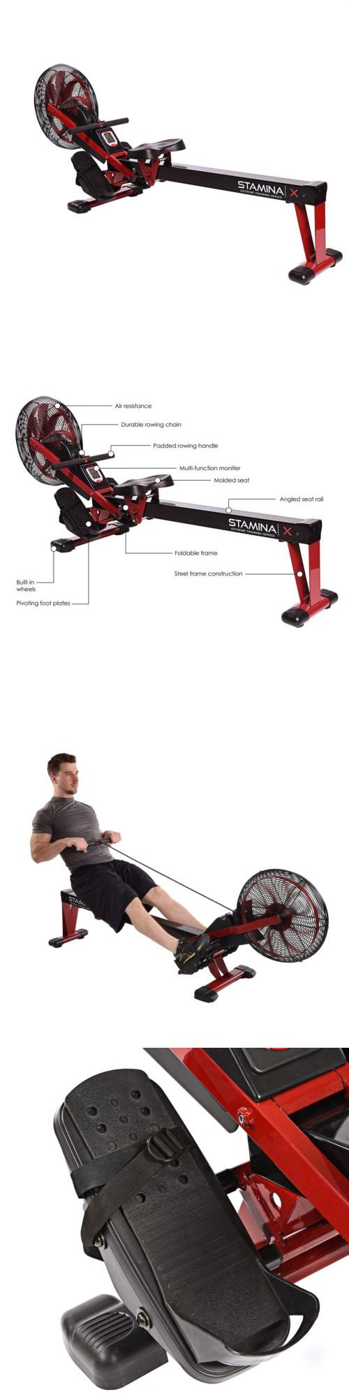 Rowing Machines 28060: Stamina Rowing Machine -> BUY IT NOW ONLY: $481.04 on eBay!