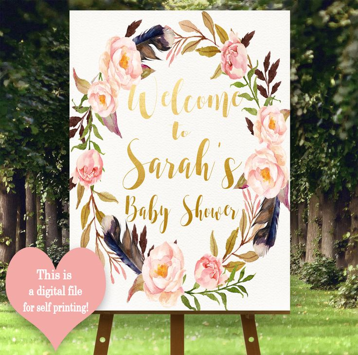 Boho Welcome sign, Printable Welcome sign, Customised Welcome sign, Welcome to baby shower,  Boho Baby shower decorations, Bo-Ho by MagicPaperPrint on Etsy https://www.etsy.com/uk/listing/477779902/boho-welcome-sign-printable-welcome-sign