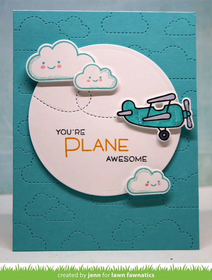 You're Plane Awesome, Lawn Fawnatics - {creative chick} | shurkus.com