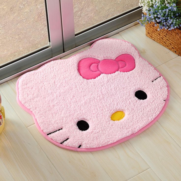 Girly Rugs For Bedroom: Todays Fashion Rugs On The Demon's Chest.Cute Kawaii Kitty