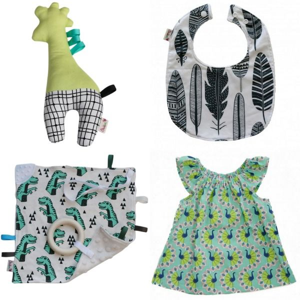 The feature of today's midweek member montage is Grubbee. Kymberly's stylish designs for babies and kids encompass on trend bibs, fun toys and funky fashion.