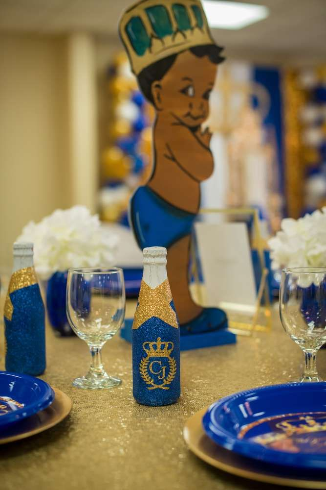 Royal Prince Baby Shower Party Ideas | Photo 6 of 11