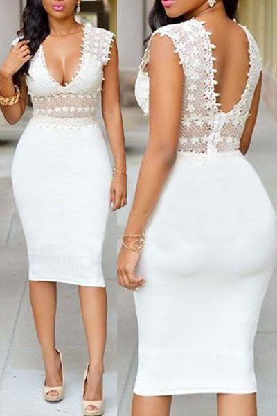 Sexy Knee Length Dress Designs