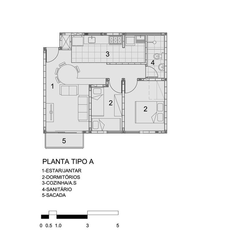 Gallery - Heliópolis Social Housing / Biselli Katchborian Arquitetos - 22