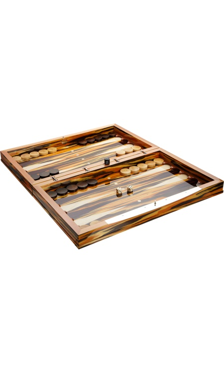 Gorgeous backgammon set... My kids and I live playing backgammon. This would be amazing to play on!