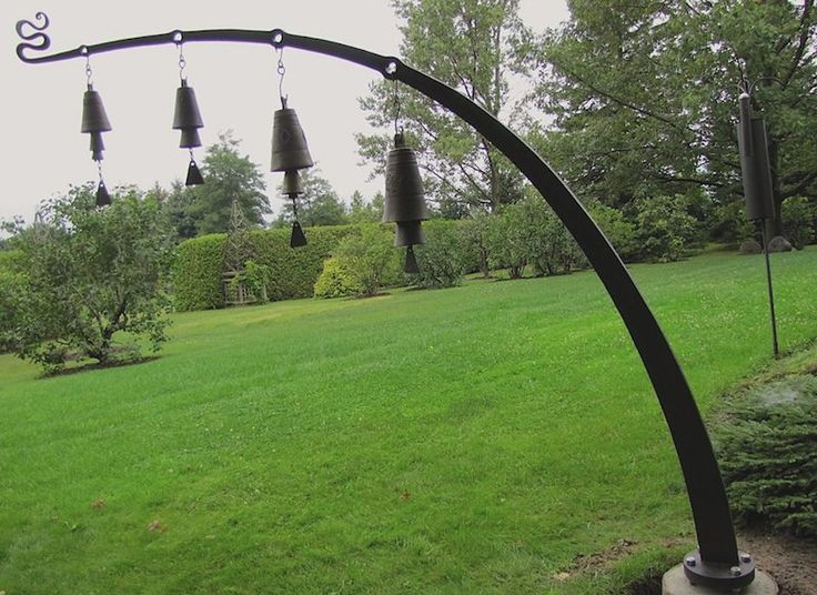 bell arch - #forged #blacksmithing #sculpture - mark puigmarti