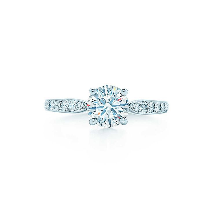 Tiffany Harmony™ with Bead-set Band - My favorite Engagement Ring