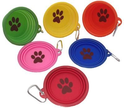 Pop Up Portable Drinking Bowls