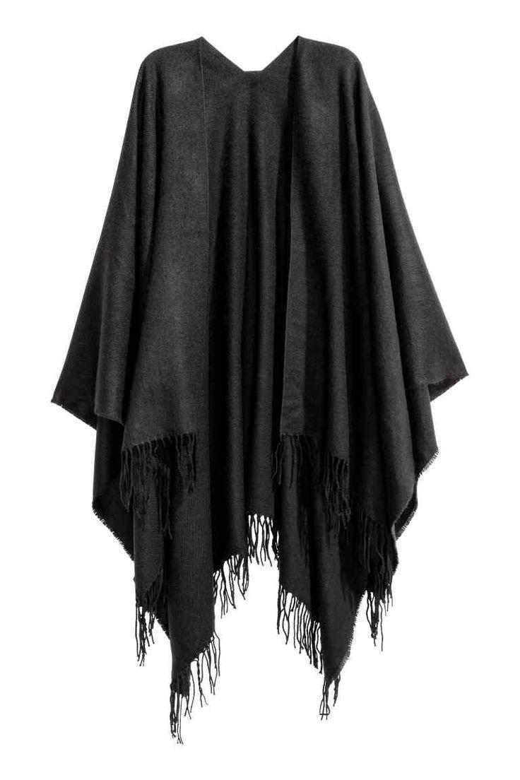 les 25 meilleures id es de la cat gorie poncho noir femme sur pinterest poncho d 39 hiver poncho. Black Bedroom Furniture Sets. Home Design Ideas