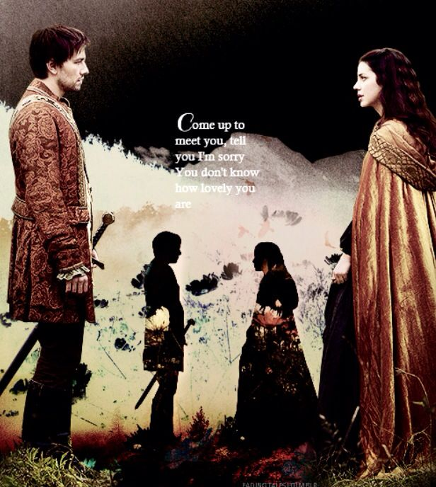 Reign - Bash (Torrance Coombs) and Mary (Adelaide Kane)