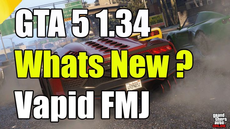 """GTA 5 Online 1.34 Whats New Vapid FMJ """"GTA 5 1.34 Out Now"""""""