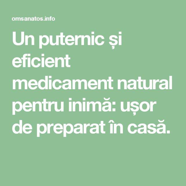 Un puternic și eficient medicament natural pentru inimă: ușor de preparat în casă.