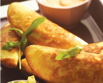 Gegarneerde flapjes: empanadas met vlees Recept - Tefal