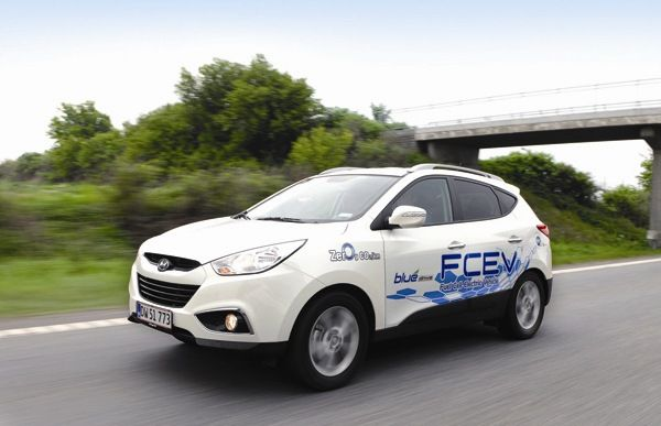 Hyundai Producing ix35 Fuel Cell Model by December