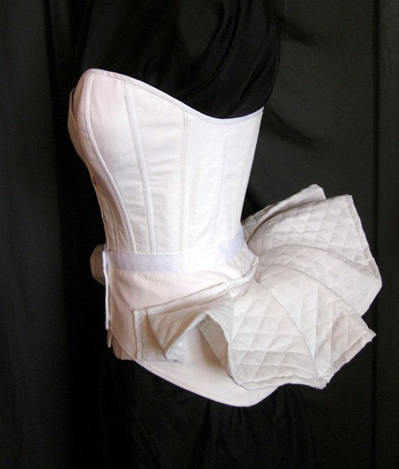 Victorian Bustle Pillow Support Made to Order by redthreaded