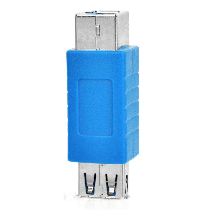 USB 3.0 BM Male to AF Female Adapter for Desktop / Laptop / Printer- Blue + Silver. Find the cool gadgets at a incredibly low price with worldwide free shipping here. USB 3.0 BM to AF Adapter for Desktop / Laptop / Printer- Blue + Silver, Computer Cable&Adapter, . Tags: #Computers/Tablets #Networking #Cables #Adapters #Computer #Cable #Adapter