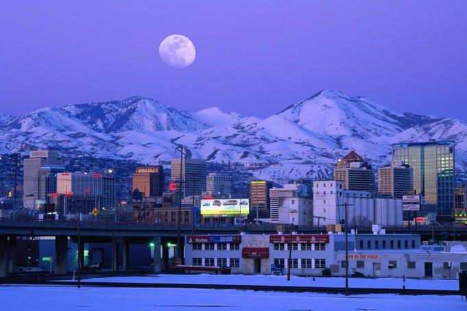 Salt Lake City Utah Has Beautiful Scenery Liked It A