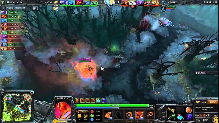 DotA2 Natus Vincere Victory Vs Newbee Full Match