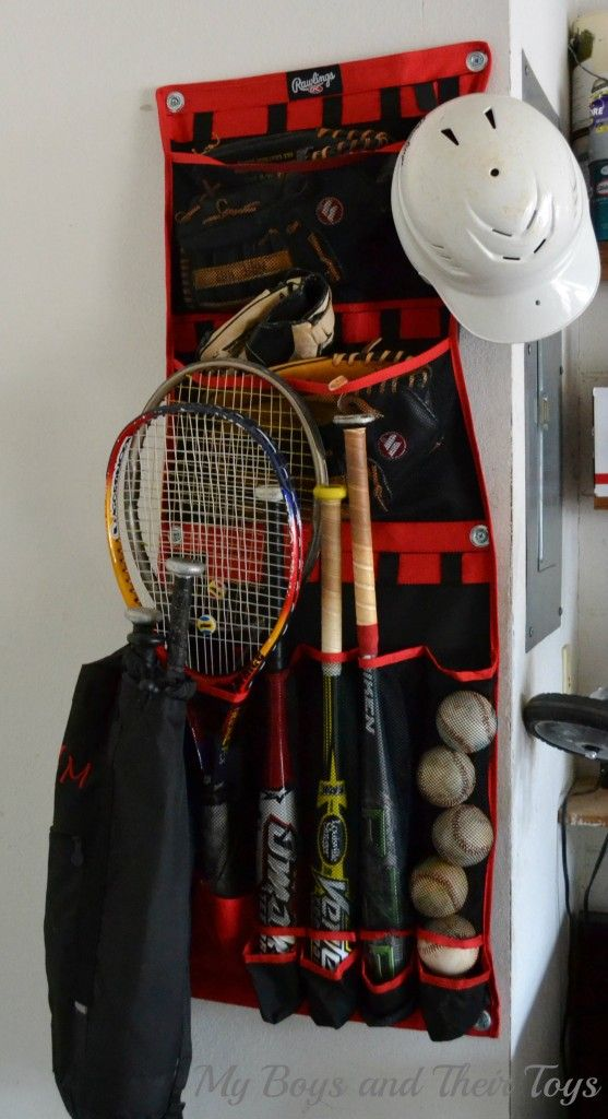 sports equipment organizer for garage 1000 images about organizing sports equipment on 8194
