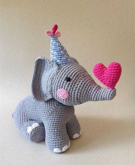 Elefante da Luiza  2015 - www.yarn.com.br