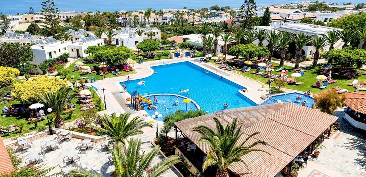 Hotell Chrissi Amoudia SSS+ All inclusive