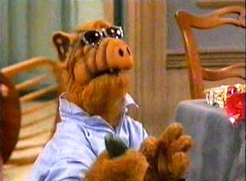 alf doing risky business - Alf Halloween Episode
