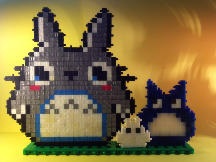 #Totoro #Qubic #Miyazaki #pixel