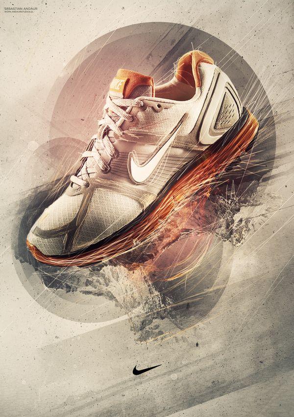 Nike by Sebastián Andaur, via Behance