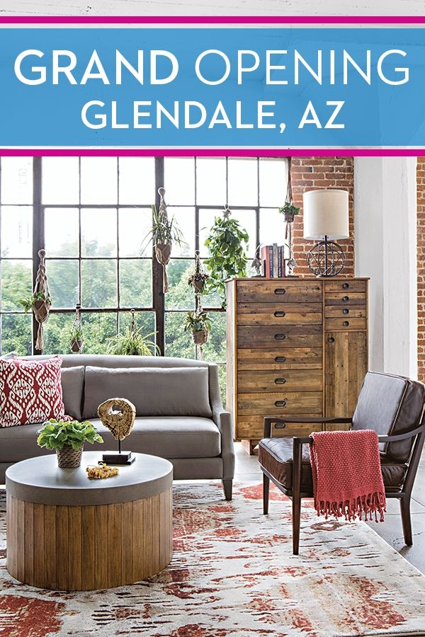 Our Most Recent Living Spaces Showroom Is Officially Open In Glendale, AZ.  Stop By