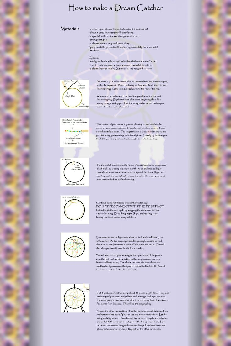 47 best dream catchers how to and more images on for How to make dreamcatchers
