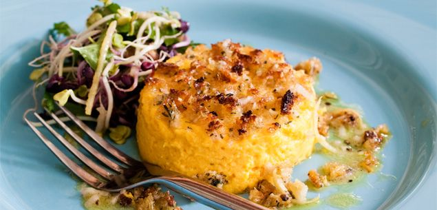 Food | Recipe | Carrot Pudding With Lemon Vinaigrette - Recipes - New Zealand Woman's Weekly