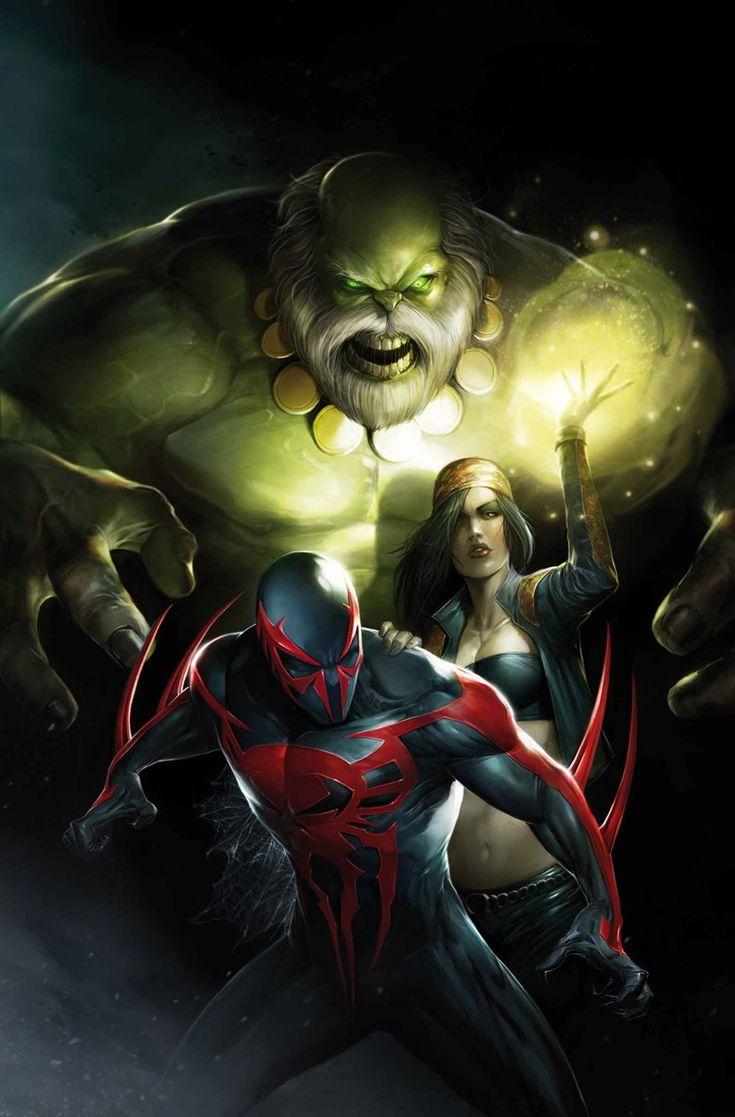 SPIDER-MAN 2099 #10 - PETER DAVID, WILLIAM SLINEY / Cover by FRANCESCO MATTINA   http://ebay.to/1MkkL4b