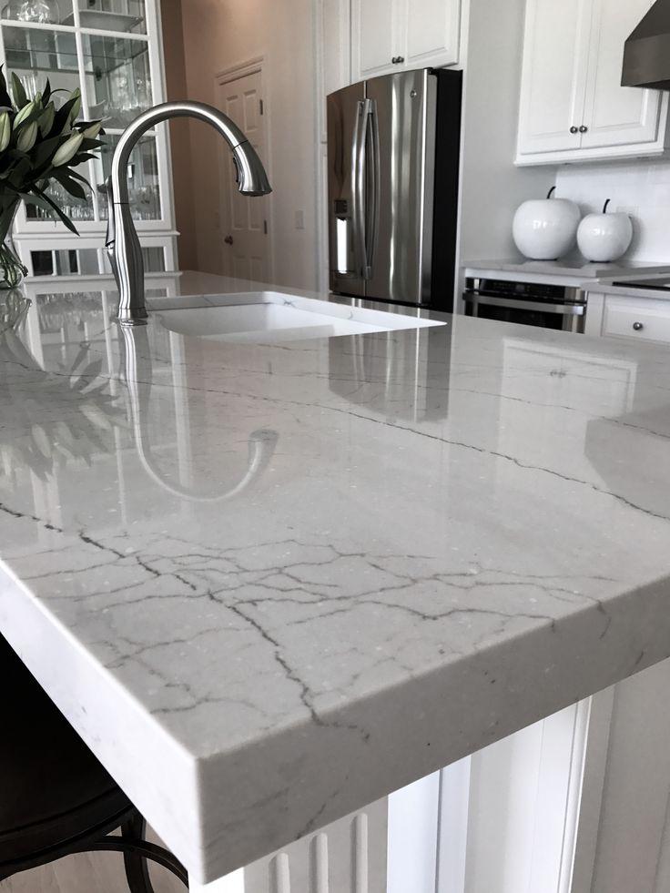 Cambria Ella Kitchen Island Kitchen Bath Remodel In