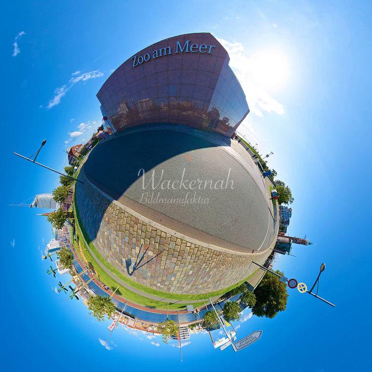 Bremerhaven Zoo am Meer © 2015 Adrian J.-G. Wackernah Little Planet 360 Grad Fotografie