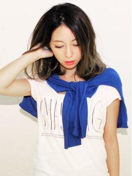 ヘアーサンディ hair SUNDY★外国人風 『 無造作 』 グラデーションカラーMEDIUM★